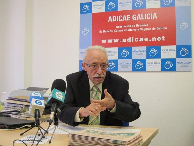 Rueda de prensa de Adicae en Santiago