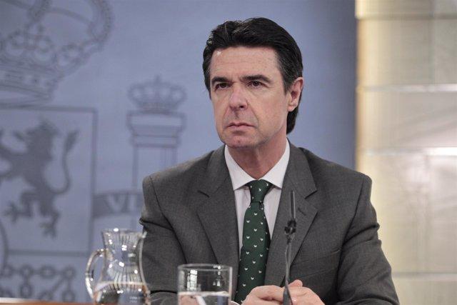 Juan Manuel Soria durante el Consejo de Ministros 1-03-13