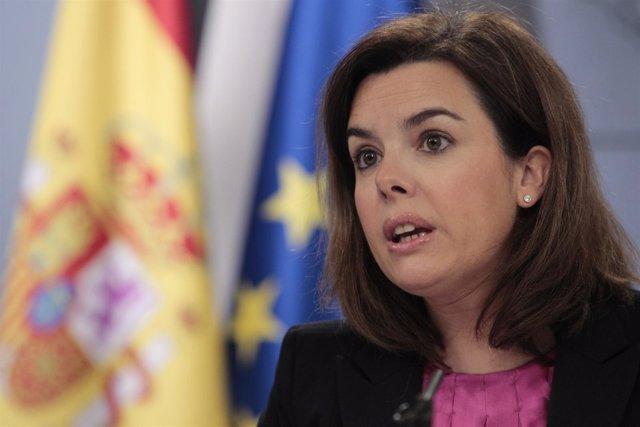 Consejo de Ministros con Soraya, Margallo y Soria