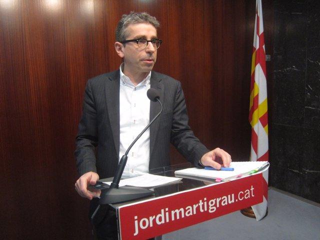 Jordi Martí, PSC