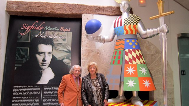 Mª Carmen y Antonio, padres de Sigfrido Martín Begué