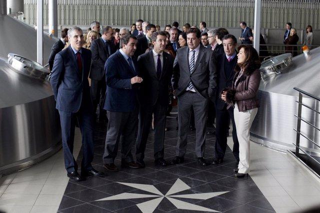 Estrella Galicia Inaugura Su Nueva Planta Industrial