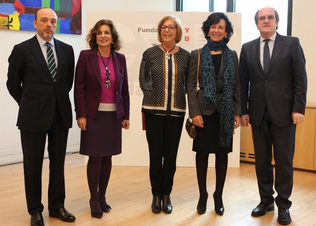 Ana P. Botín y Ana Botella con Fundación CYD