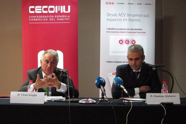 Grafià y Quintero comparecen sobre el contrato de Feria Valencia y Teyoland.
