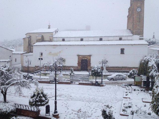 Nieve en Alanís
