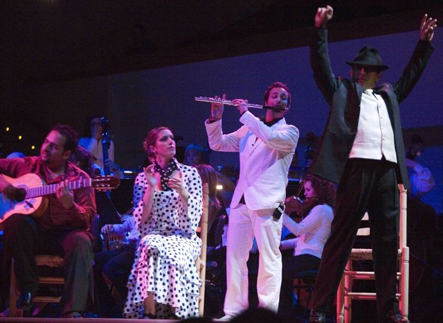 Oscar de Manuel presenta su visión del flamenco en el Palau