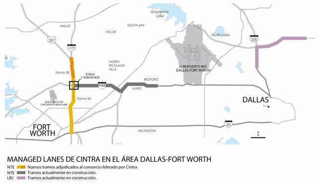 Ampliación de autopista en Texas adjudicada a Ferrovial