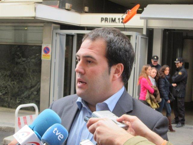 Jon Iñarritu, frente a la Audiencia Nacional