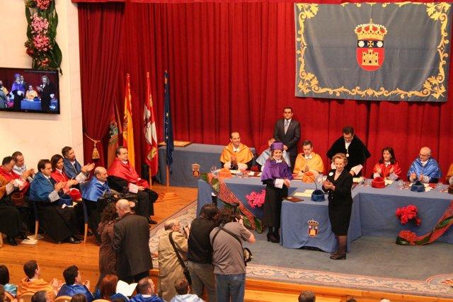 Ceremonia del doctorado honoris causa a Félix Rodríguez de la Fuente
