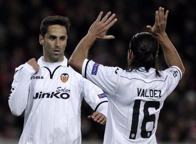 El Valencia se impone al Lille