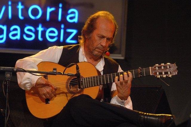 Paco De Lucía Cerrará El Festival De Vitoria