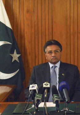 El Expresidente De Pakistán, Pervez Musharraf