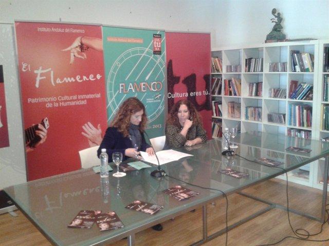 Presentación del espectáculo Cuatro Lunas de Pilar Távora