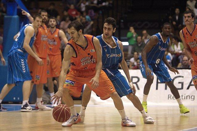 Pau Ribas  Cajasol  Valencia Basket