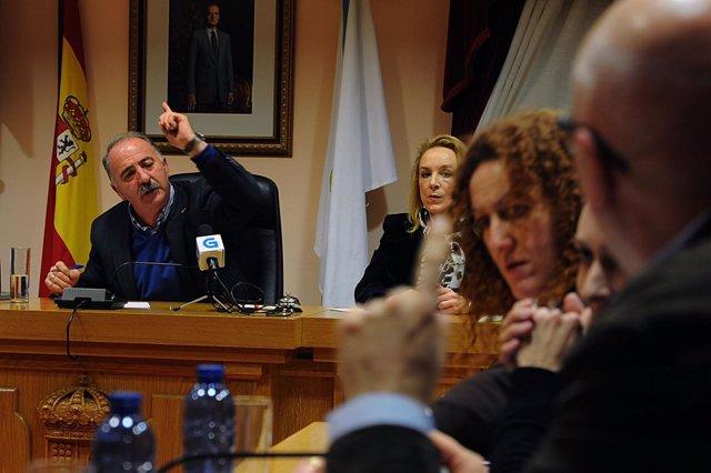 BARBADÁS (OURENSE) 26 Febrero 2013: PLENO EXTRAORDINARIO DE BARBADÁS