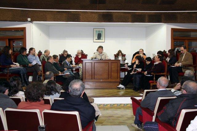 Pleno del ayuntamiento de l'Alcúdia