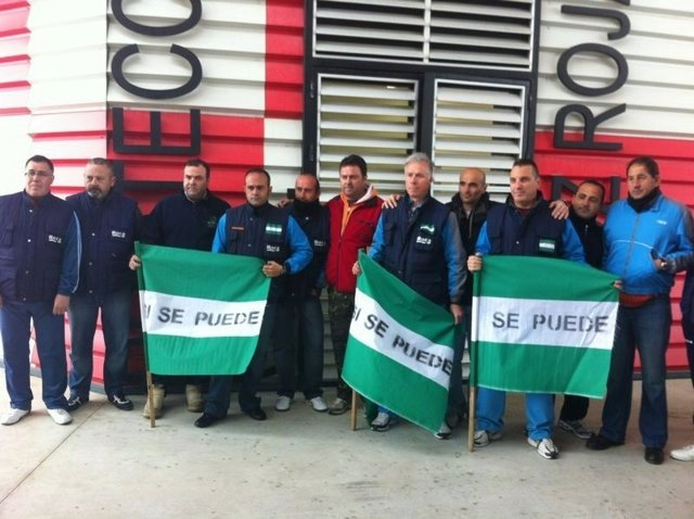 Trabajadores de Roca en Alcalá de Guadaíra en huelga de hambre