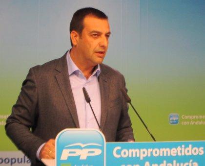 PP-A registra en el Parlamento una moción de reprobación contra Jesús Ferrera y exige a PSOE-A e IULV-CA que la apoyen