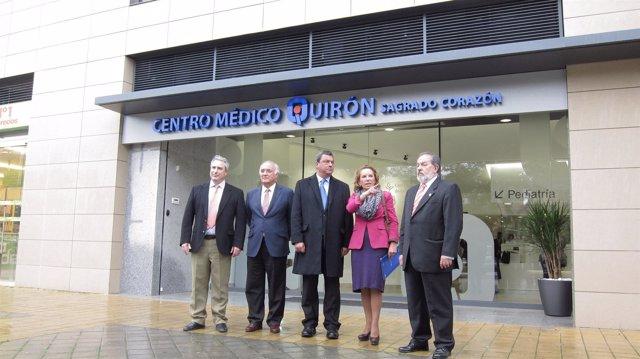 La Gerente Territorial Del Grupo Quirón En Andalucía, Pilar Serrano