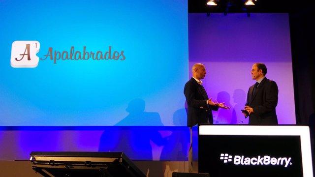 Presentación de BlackBerry en España www.Europapress.Es/portaltic