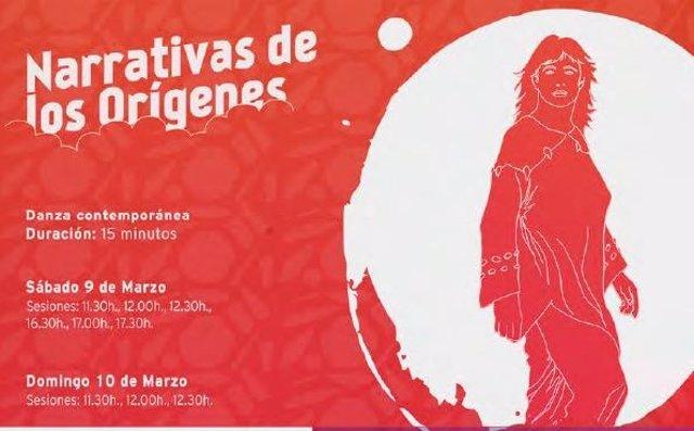 Cartel de 'Narrativas de los Orígenes'