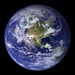 Imagen de la Tierra tomada por la NASA