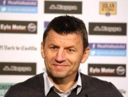 Miroslav Djukic, entrenador del Valladolid