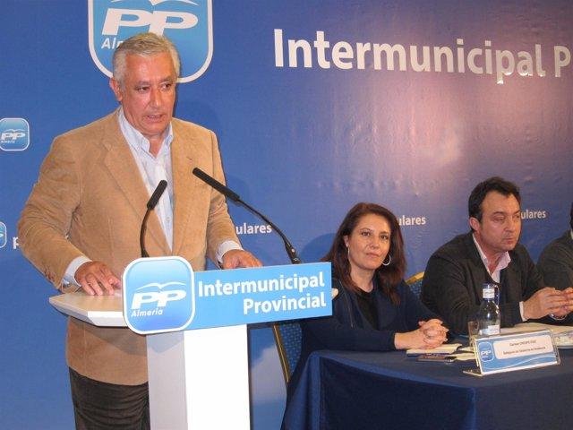 Javier Arenas en Almería