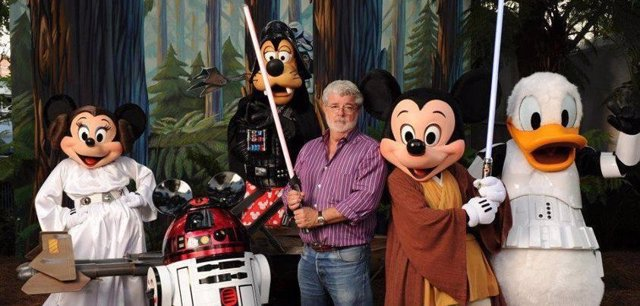 DISNEY COMPRA  STAR WARS. GEORGE LUCAS