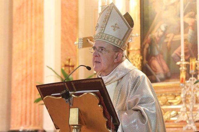 Monseñor Carlos Osoro en imagen de archivo