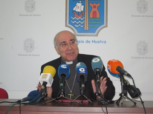 El Obispo De Huelva, José Vilaplana.