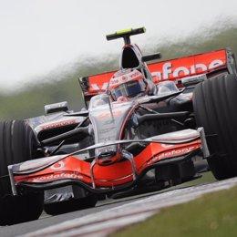 El piloto finlandés Heikki Kovalainen (McLaren Mercedes)