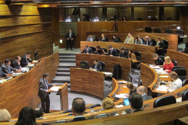 Pleno de la Junta General del Principado 22 de febrero