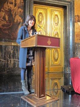 La delegada de Salud del Ayuntamiento de Barcelona, Cristina Iniesta