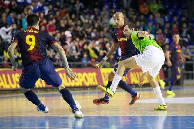 FC Barcelona contra el Inter Movistar