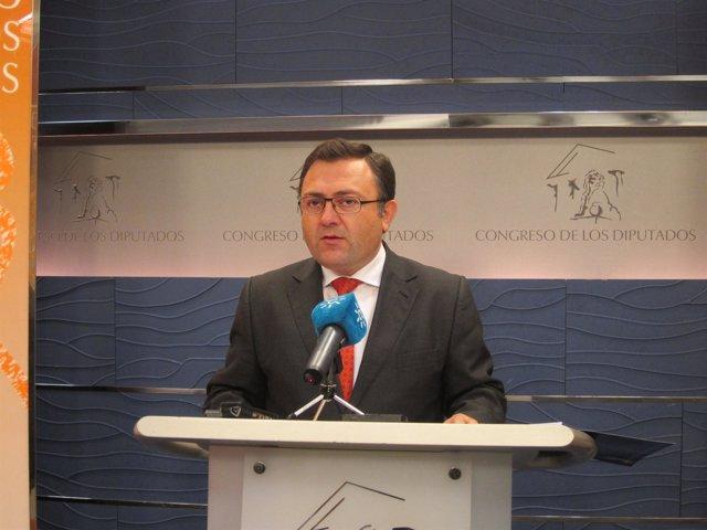 Coordinador de la interparlamentaria del PSOE-A y diputado, Miguel Angel Heredia