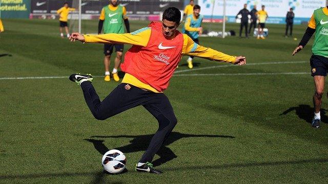 El jugador del FC Barcelona Marc Bartra