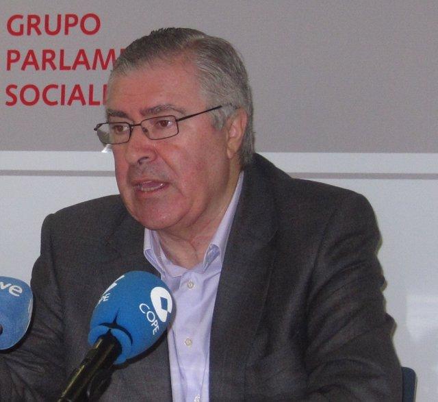 El portavoz adjunto del PSM en la Asamblea José Quintana