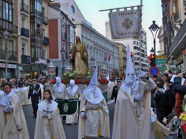 Procesión General De La Semana Santa De Valladolid 2010.