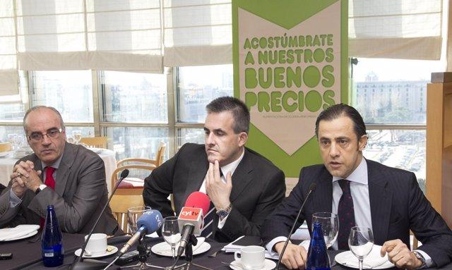 Jose Luis Pascual, VictordelPozo y Diego Copado (El Corte Inglés)
