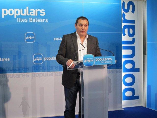 Secretario ejecutivo de Política Local del PP-IB y presidente del PP de Mallorca