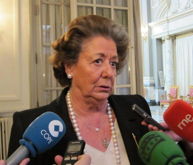 Rita Barberá en imagen de archivo