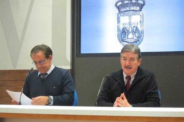 Feliz Fernández y Alfredo Carreño