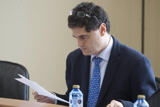 O secretario xeral técnico, Francisco Vidal-Pardo, o secretario xeral de Medio R
