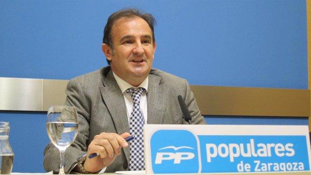 Concejal del PP en el Ayuntamiento de Zaragoza, Ángel Lorén
