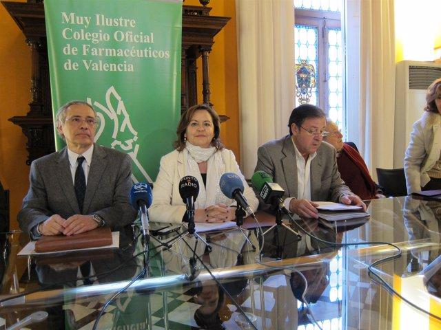 Rueda de prensa del MICOF contra el decreto sobre prestación farmaceútica