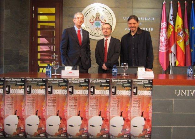 De izq. A drcha. José María Pino, José María Marbán y Fran Lara