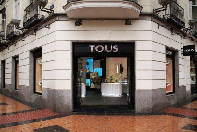 Tienda de Tous en la calle Goya de Madrid
