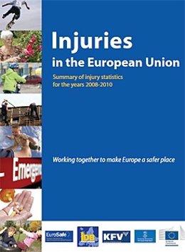 Informe sobre lesiones en la Unión Europea, del proyecto JAMIE.
