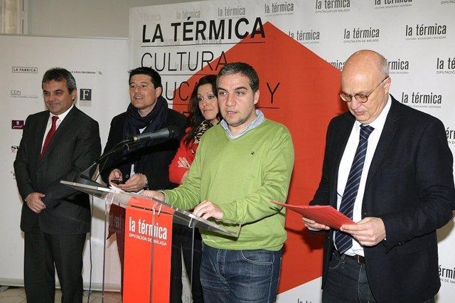 El presidente de la Diputación de Málaga, Elías Bendodo, La Térmica
